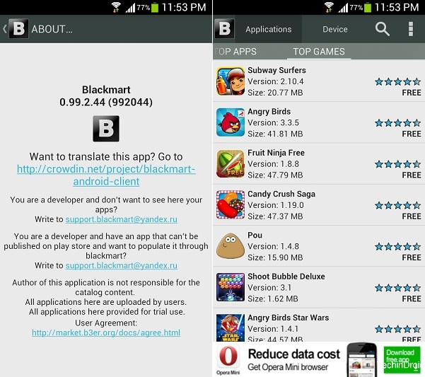 Get Paid Apps and Games for free - Play store Altranatives