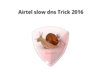 Airtel Slow DNS trick October 2016