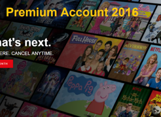 Free Netflix Premium Account September 2016