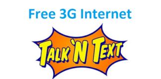 Hammer VPN settings for Talk N Text