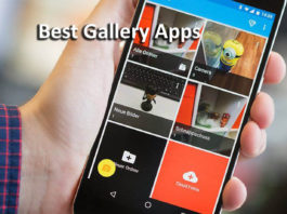 Best photo gallery apps for android
