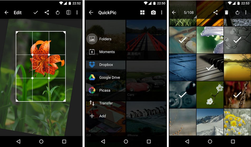 quickpic - Best Photo Gallery APPS