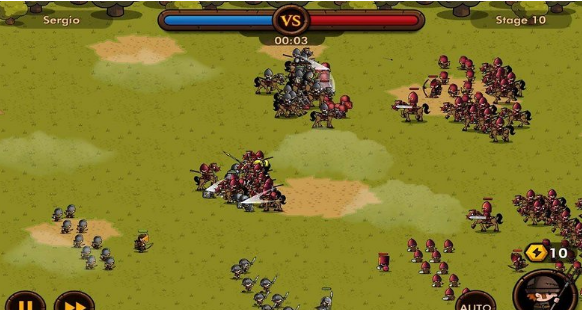 Mini Warriors - Small fighter, great strategy game