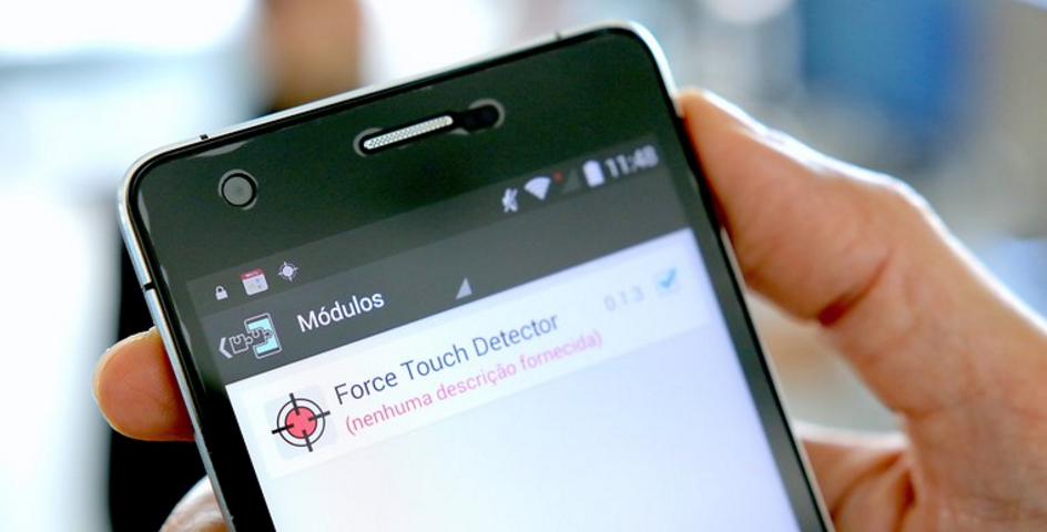 Xposed module to have a 3D Touch function. / © TechinDroid
