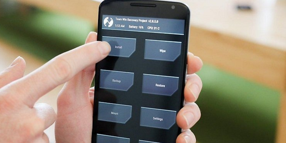 TechinDroid Nexus 6 2 install TWRP recovery