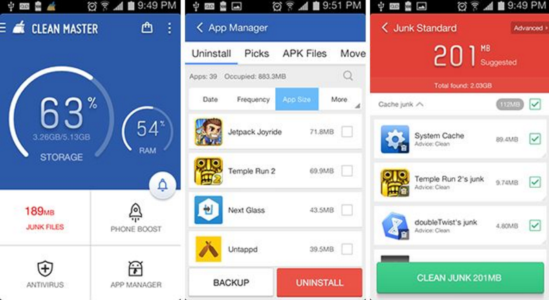 best memory cleaner android apps