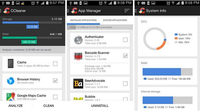 Best android cleaner and booster