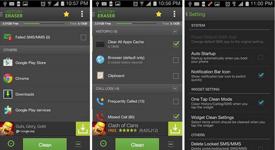 best android cleaner app 2016