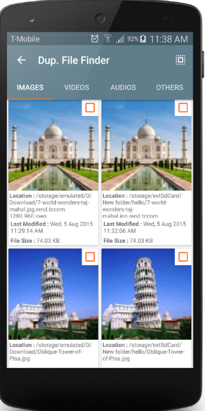 Duplicate File Finder android