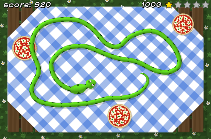 games for kids free - piza snake app
