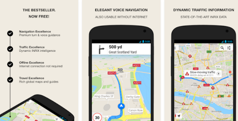 best navigation apps for android phones