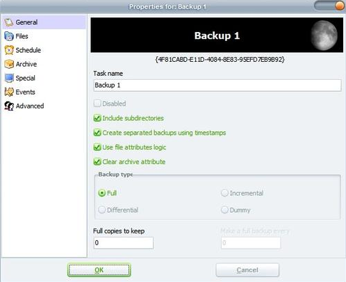 Cobian Best backup software