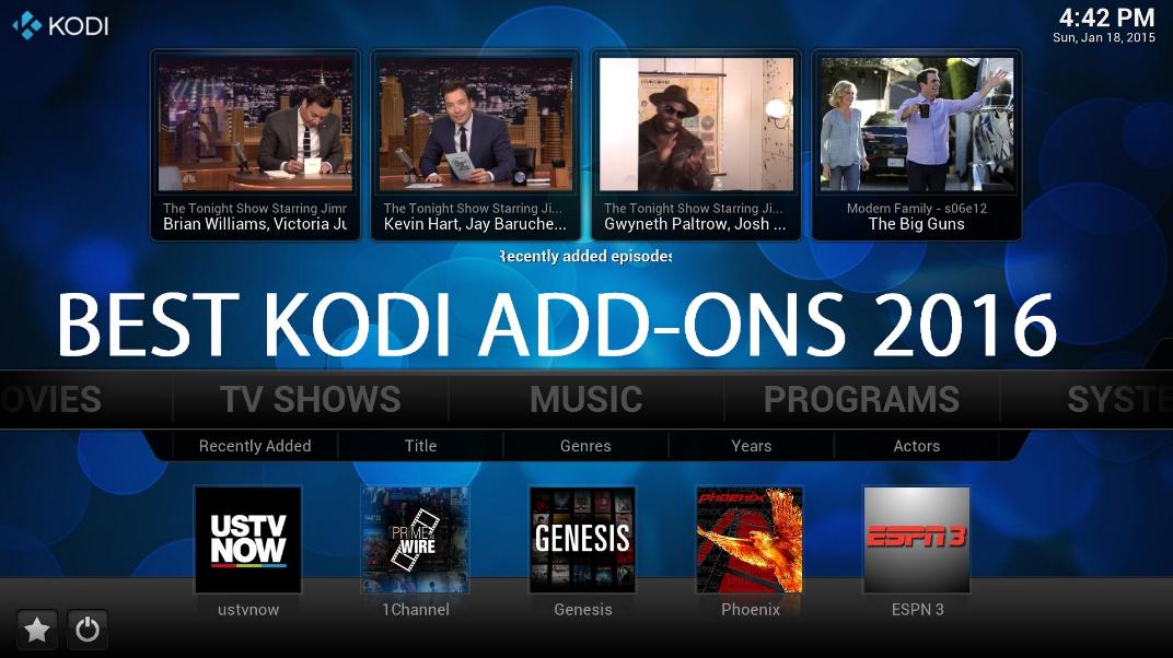 Top 10 Best Kodi Addons 2017 - Movies   TechinDroid.com