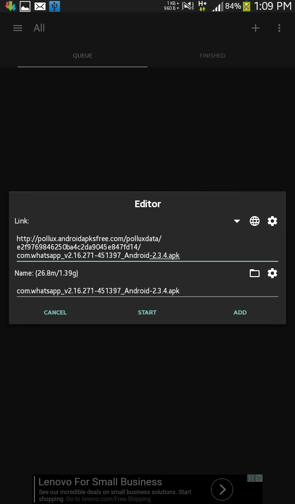 ADM, Alternative IDM in Android_9