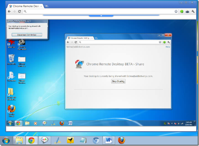 chrome os remote desktop