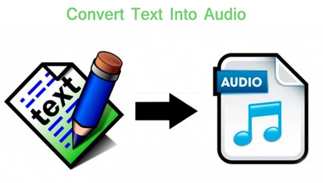 How to convert text into audio with notepad text to speech notepad