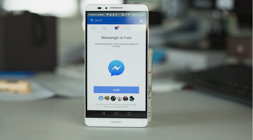 Messenger social network