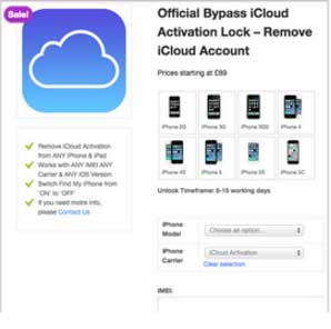 Top 8 iCloud Activation Lock Removal tools