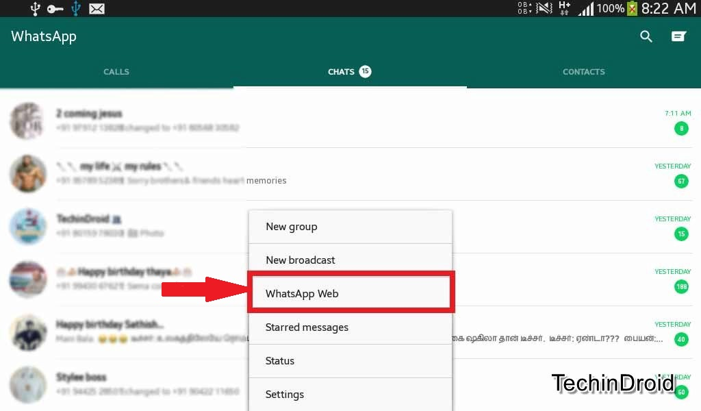 How to use WhatsApp Web Messenger
