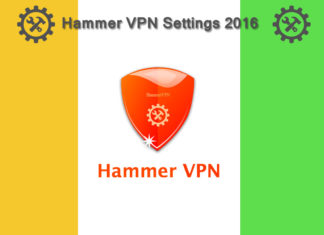 Hammer VPN working settings 2016