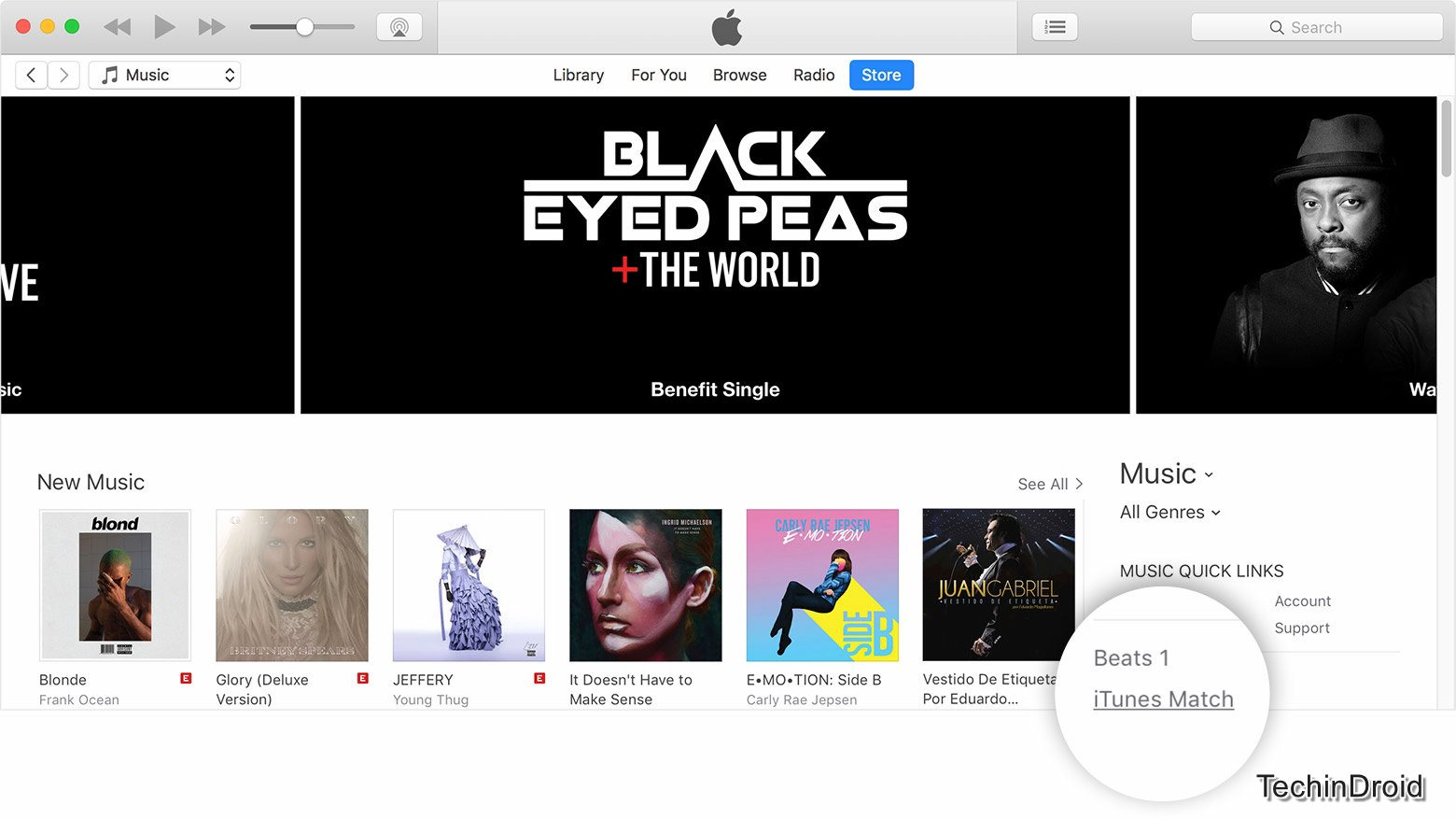 How to subscribe iTunes Match?