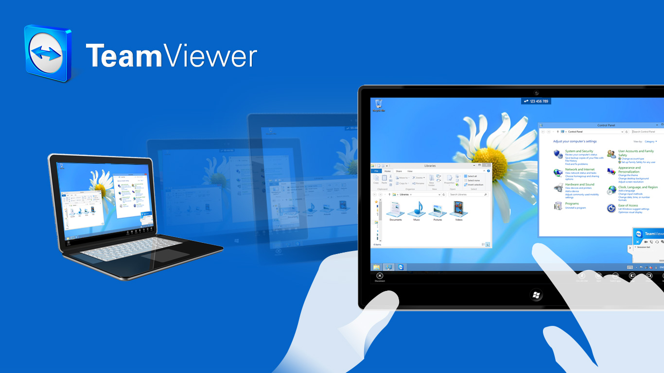 Teramviewer remote administration tool