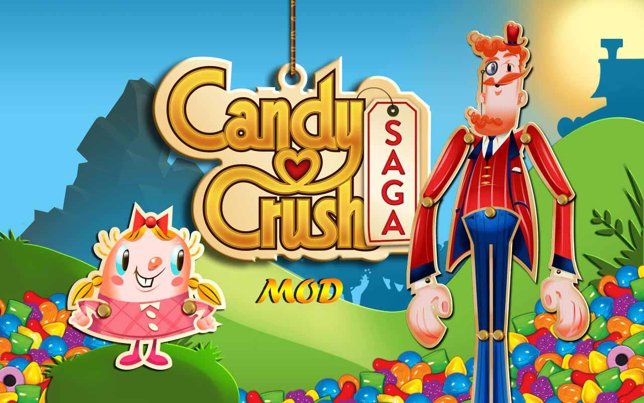 candy crush saga mod apk 2019