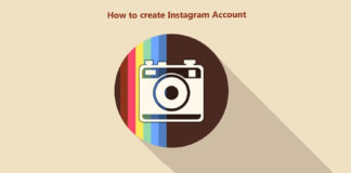 How to create instagram account
