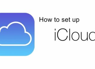 how to set up icloud on iphone 5 & 6 ipad