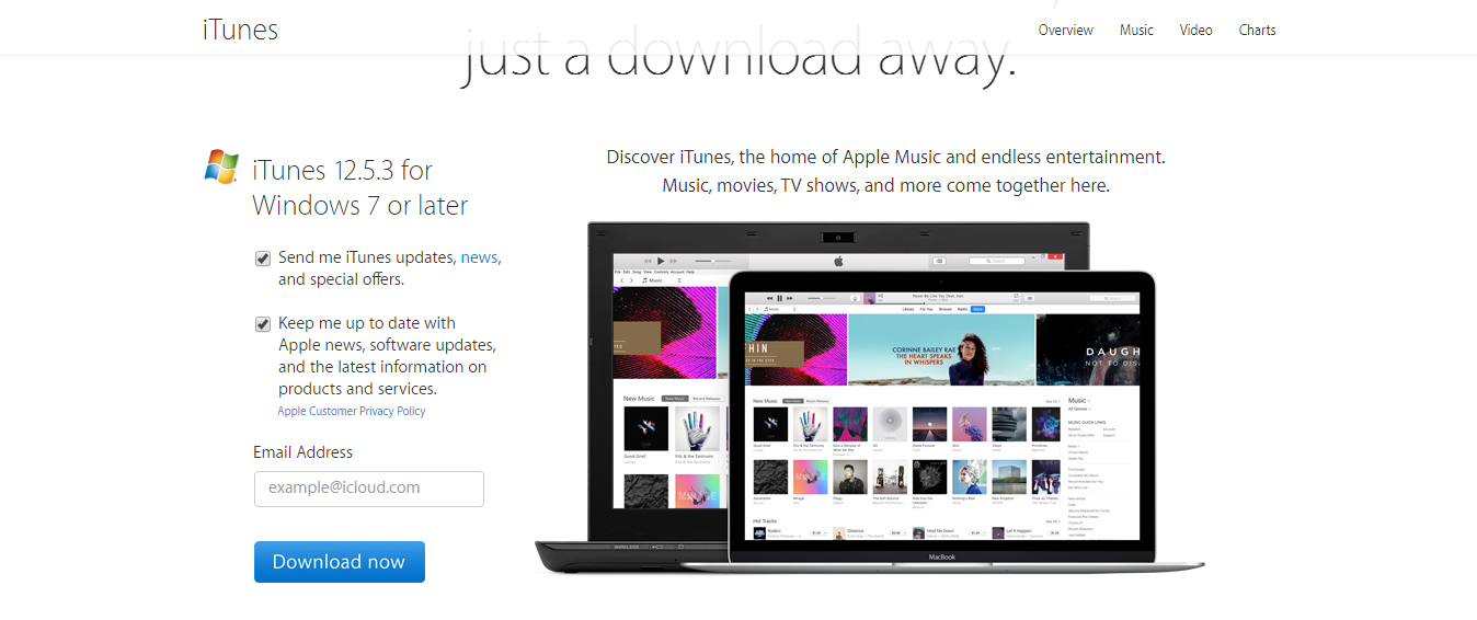 Install iTunes on windows 10 Step by Step