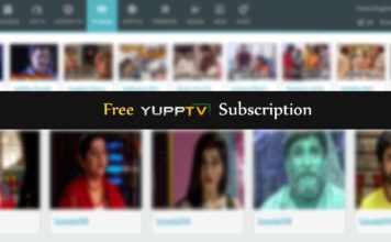 yupptv hack free subscription watch unlimited LiveTV account