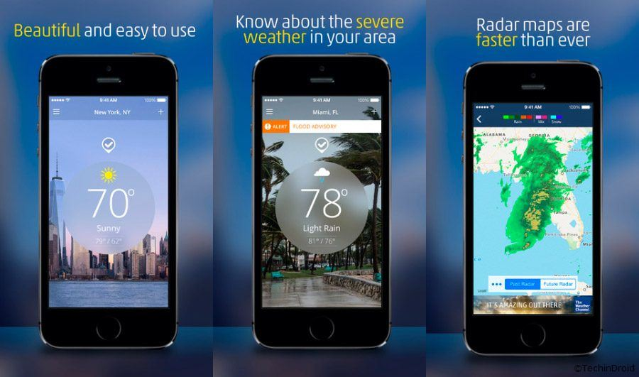 what is the best weather app for iphone best weather app for iphone 2018 techindroid 21221