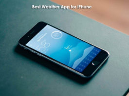 Best Weather App for iPhone 2016