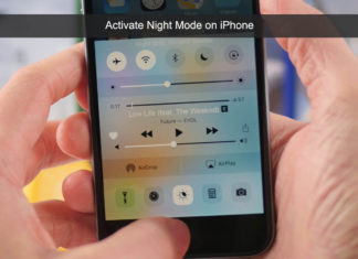 How to Enable or Disable Night mode on iphone ipad ios93 get night mode 5s 6 7 activate deactivate night shift
