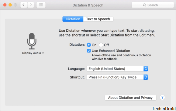 how to voice activate siri on mac