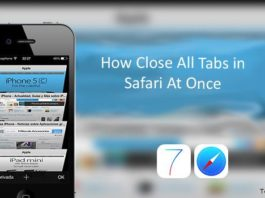 How to Close All tabs on Safari iOS 9 10 iPhone iPad 5s 6 7