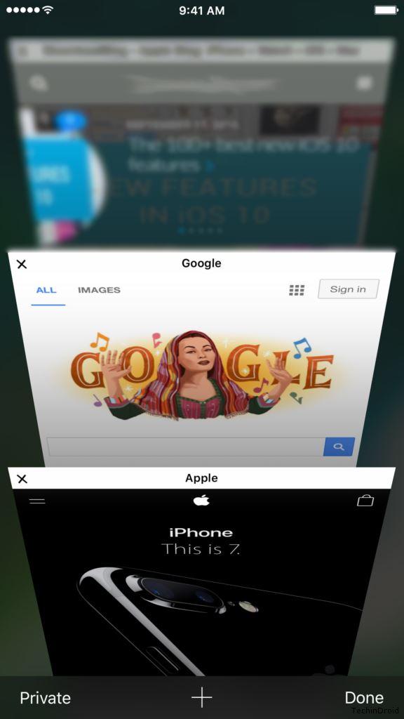 How to Close All tabs on Safari iOS 9 & 10