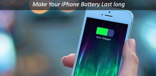 How to make the iPhone battery last longer