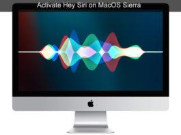 "How to Activate siri on MacOS Sierra Computers - ""Hey siri"""