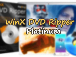 WinX DVD Ripper Platinum Free download licence codes + Keys