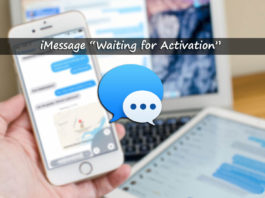 "iMessage ""Waiting for activation"" Error on iOS 10, 9 and 7"