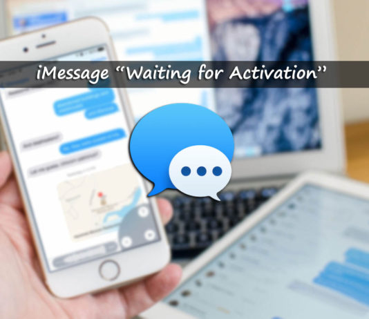 """iMessage """"Waiting for activation"""" Error on iOS 10, 9 and 7"""