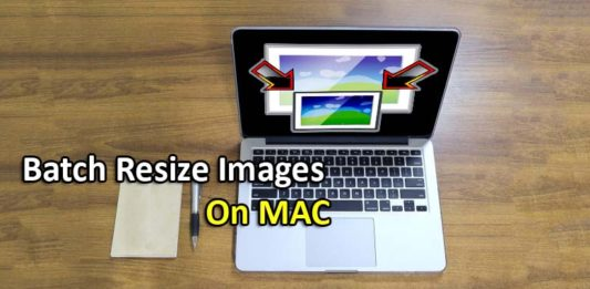 How to resize multiple Images at Once batch image resizer tool mac