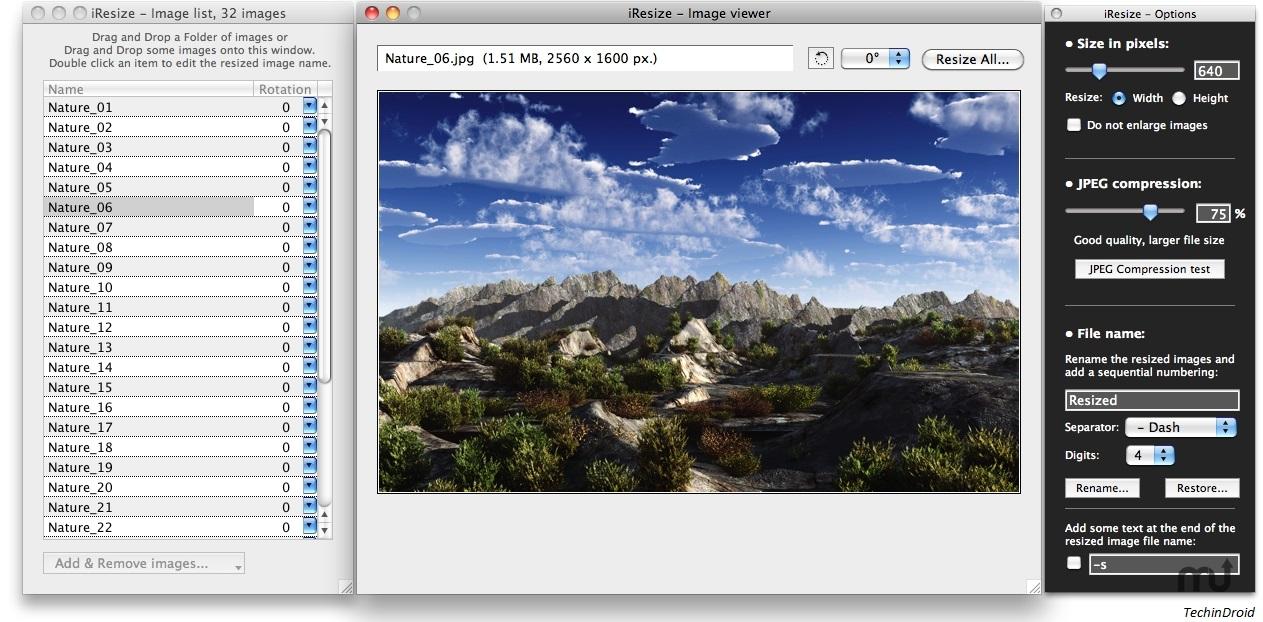 batch image resizer mac free