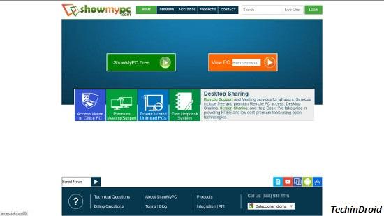 ShowMyPC, for All platforms