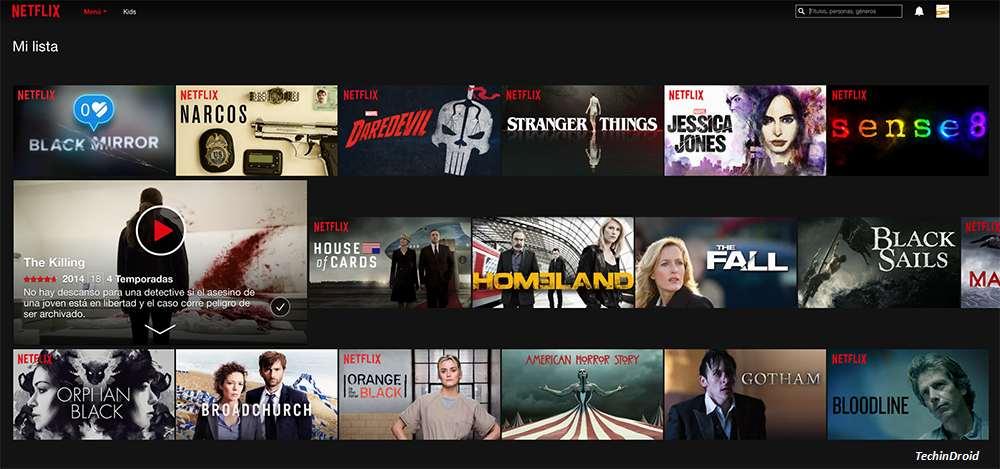 Download Netflix series and movies on Windows 10