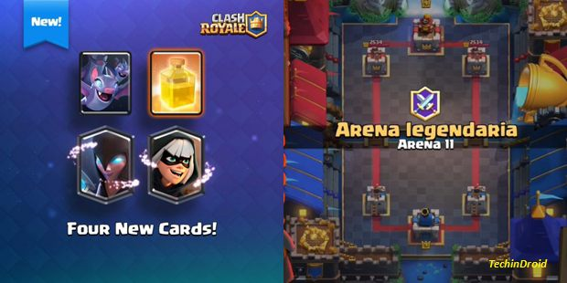Clash Royale Arena 11 New cards, Clan battles