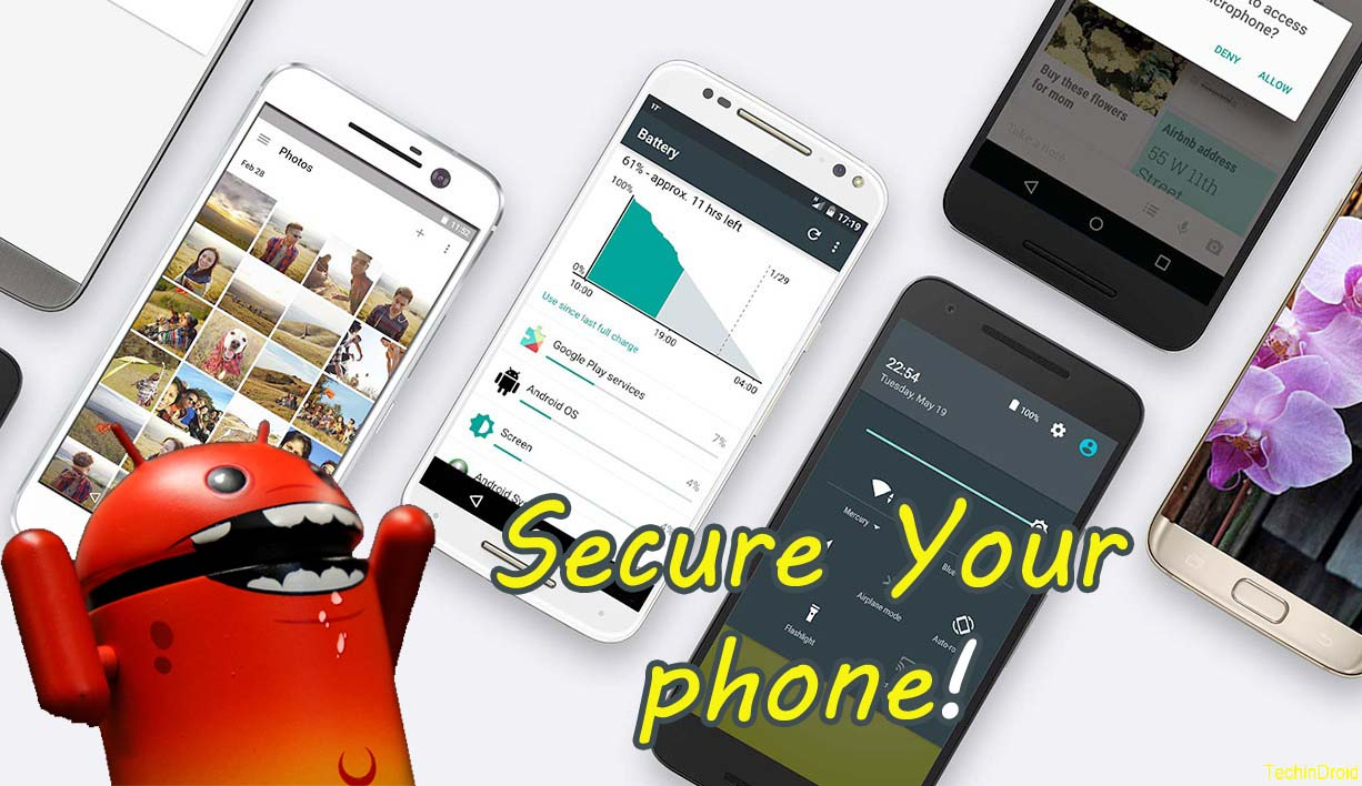 How to Protect/Secure your Android phone from Hackers ...