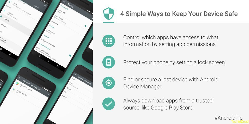 4 tips to Protect Your Android Mobile & Tablet