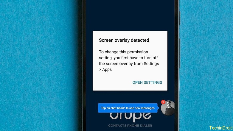 """Screen overlay detected"" error: samsung j7 moto g4"